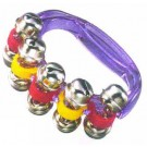 - Sleigh Bells on Plastic Coloured Handle