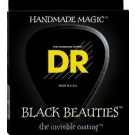 DR Strings 13-56 Black Beauties Black Coated Acoustic Strings