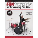 FUNdamentals of Drumming for Kids -  Michael Aubrecht   (Drums)  - Modern Drummer Publications. Softcover/DVD Book