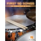 First 50 Songs You Should Play on Drums -  Various   (Drums) First 50 - Hal Leonard. Softcover Book