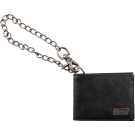 Bigsby Limited Edition Leather Wallet with Chain, Black