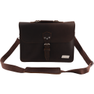 Bigsby Limited Edition Leather Laptop Bag, Brown