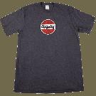 Bigsby Round Logo T-Shirt, Gray, S