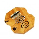 Samba 7 Note Kalimba with Solid Body