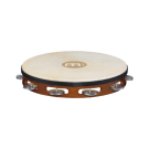 "Meinl - 10"" Non-tuneable Wood Tambourine w/Goat skin"