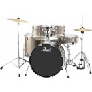 "Pearl Roadshow 5pc 22"" Fusion Plus Drum Kit Package in Bronze Metallic"