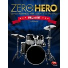 Zero To Hero Drum Kit -  Paul Watson   (Drums)  - Sasha Music Publishing. Softcover Book