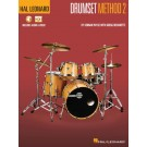 Hal Leonard Drumset Method - Book 2 -     (Drums) Hal Leonard Drumset Method - Hal Leonard. Sftcvr/Online Media Book