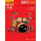 Hal Leonard Drumset Method - Complete Edition -     (Drums) Hal Leonard Drumset Method - Hal Leonard. Sftcvr/Online Media Book