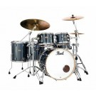 Pearl Session Studio Select 4pc Shell Pack in Black Mirror Chrome