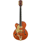 Gretsch G6120TLH Players Edition Nashville with Bigsby, Left-Handed, Filter'Tron™ Pickups, Orange Stain
