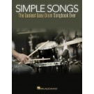 Simple Songs -     (Drums)  - Hal Leonard. Softcover Book