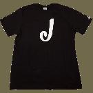 Jackson J Logo T-Shirt, Black, S