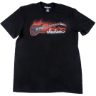 Jackson Red Crackle T-Shirt, Black S