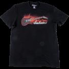 Jackson Red Crackle T-Shirt, Black M
