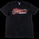 Jackson Red Crackle T-Shirt, Black, XXL