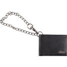 Jackson Limited Edition Leather Wallet with Chain, Black