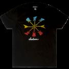 Jackson Guitar Shapes T-Shirt, Black, M