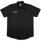 Jackson Logo Men's Work Shirt, Black, M