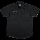 Jackson Logo Men's Work Shirt, Black, XXL