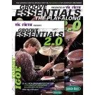 Vic Firthå¨ Presents Groove Essentials 2.0 with Tommy Igoe -  Tommy Igoe   (Drums)  - Hudson Music. Softcover/DVD Book