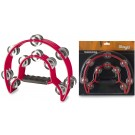 Stagg - Cutaway Plastic Tambourine With 20 Jingles