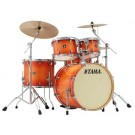"Tama Superstar Classic 5pce 22"" Euro size Drum Kit with Hardware in Tangerine Lacquer Burst."
