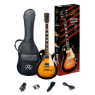 SX Les Paul Style Electric Guitar Kit in Vintage Sunburst