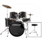 "DXP 22"" Rock Drum Kit Package in Black"