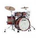 "TAMA STAR Walnut 4-piece Shell Pack with 22"" Bass Drum in - Garnet Japanese Sen Burst (AGJB) - No Hardware Included"