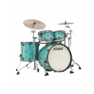 Tama Starclassic Maple 4 Piece Shell Pack in Surf Green Silk Wrap
