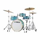 """Yamaha Stage Custom Birch 20"""" Crosstown Hip Drum Kit in Matte Surf Green"""