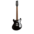 Danelectro '66 12 String Electric Guitar in Black