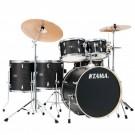 Tama Imperial Star 6 Pce Drum Kit in Black Oak Wrap