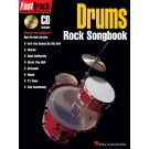 FastTrack Drums Rock Songbook -    Various (Drums) FastTrack Music Instruction - Hal Leonard. Softcover/CD Book