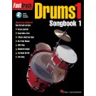 FastTrack Drums Songbook 1 - Level 1 -  Various   (Drums) FastTrack Music Instruction - Hal Leonard. Softcover/CD Book