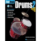 FastTrack Drums Method - Book 2 -  Blake Neely|Rich Mattingly   (Drums) FastTrack Music Instruction - Hal Leonard. Softcover/CD Book