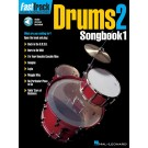 FastTrack Drums Songbook 1 - Level 2 -  Various   (Drums) FastTrack Music Instruction - Hal Leonard. Softcover/CD Book
