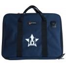 Protec Music Portfolio Bag with Shoulder Strap and Musos Corner Logo - Blue