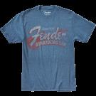 Fender Since 1954 Strat T-Shirt Blue - Medium
