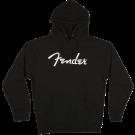Fender Logo Hoodie, Black, M