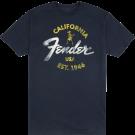 Fender Baja Blue T-Shirt, Blue, S