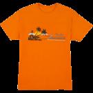 Fender Hang Loose Unisex T-Shirt, Orange S