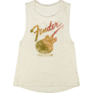 Starcaster Womens Tank, Natural L