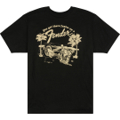 Fender Get There Faster T-Shirt, Black, S