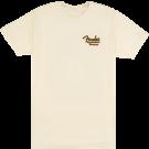 Fender Acoustasonic Tele T-Shirt, Cream, L