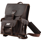 Gretsch Limited Edition Leather Backpack, Brown