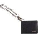 Gretsch Limited Edition Leather Wallet with Chain, Black