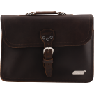 Gretsch Limited Edition Leather Laptop Bag, Brown