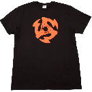 Gretsch 45 RPM T-Shirt, Black, S
